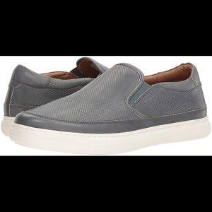 Donald pliner men's gray corbyn sneaker slip on